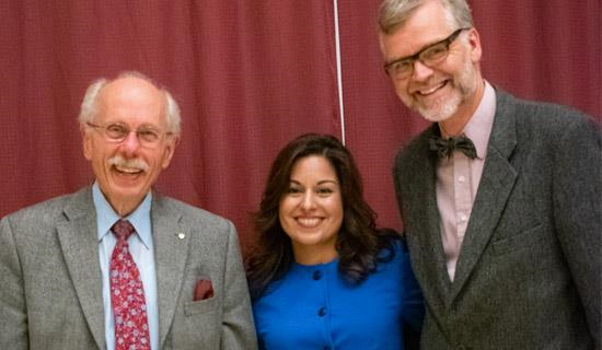 Drs. Antoine Hakim, Nafissa Ismail, and Frank Knoefel
