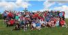 195 golfers in a group photo