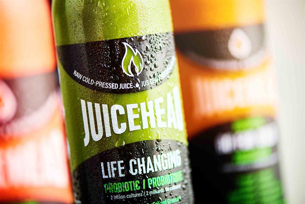 Bottle of Juicehead Life Changing Juice